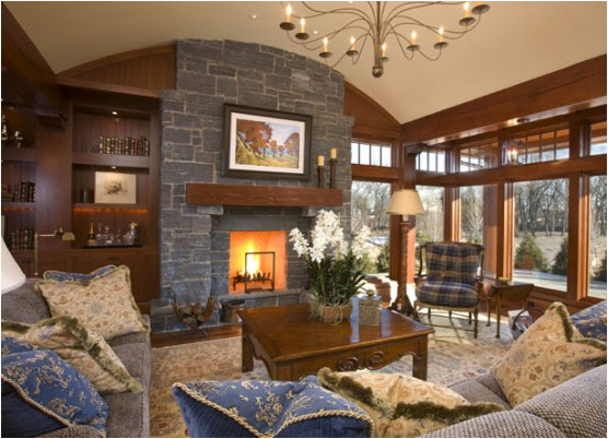 old style living room - photo #22