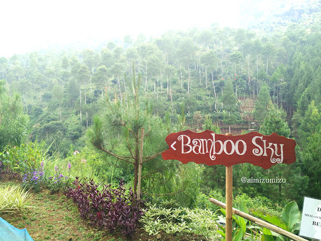 bamboo sky The Lodge Maribaya