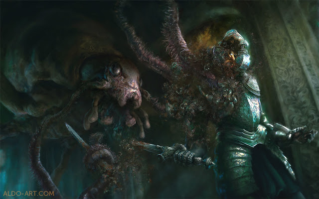 Image from http://aldokatayanagi.cgsociety.org/art/rust-keyshot-monster-zbrush-dd-photoshop-dungeons-dragons-creature-armor-knight-warrior-sword-metal-action-digital-painting-attack-fantasy-2d-1163781