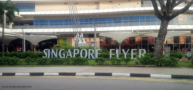 Singapore Flyer Signage