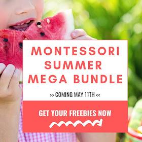 Montessori Summer Mega Bundle