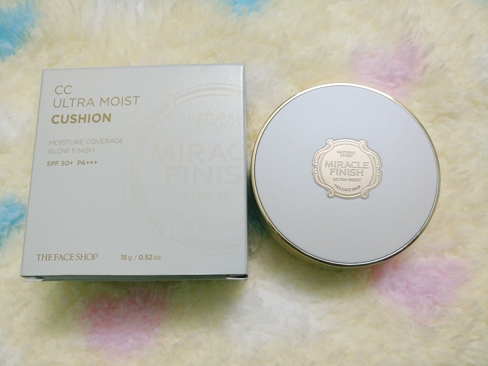 REVIEW] THE FACE SHOP MIRACLE FINISH CC ULTRA MOIST CUSHION