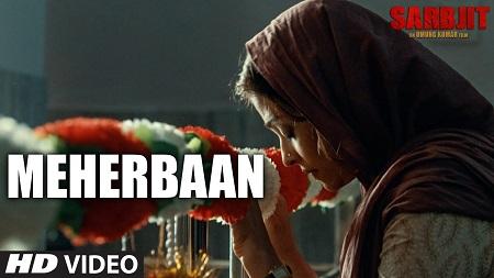 Meherbaan SARBJIT Aishwarya Rai Bachchan New HD Songs 2016 Randeep Hooda Sukhwinder Singh