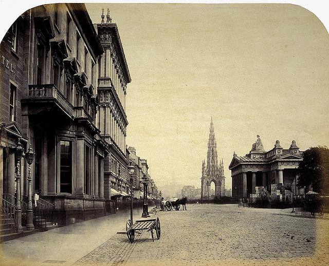 la imagen del siglo   daguerrotipos  paisaje urbano