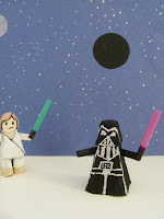 Darth Vader kids craft