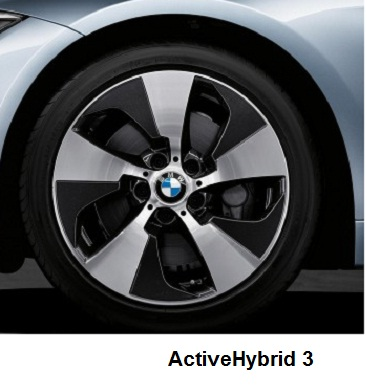 BMW ActiveHybrid 3 alloys