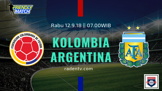 Streaming Kolombia vs Argentina