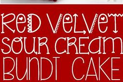 Red Velvet Sour Cream Bundt Cake