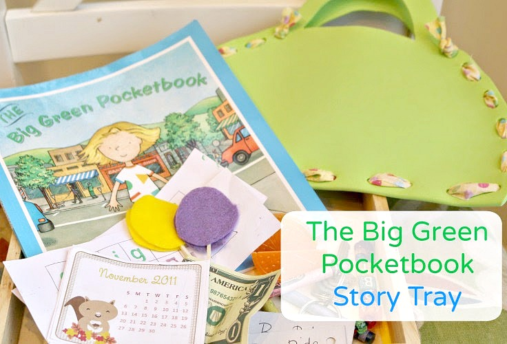 story re-telling for The Big Green Pocketbook