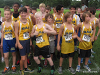 The 2012 Battle at Tom Brown boys' team champs from Raa Middle School