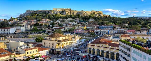 Verão em Atenas