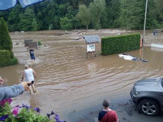 Hochwasser Campingplatz Südeifel