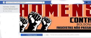 ELE NÃO: homens também se unem e criam grupo no facebook contra Bolsonaro