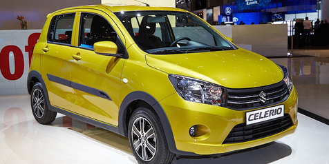 Mobil Kecil Suzuki Celerio Juga Akan Dipamerkan di IIMS 2014