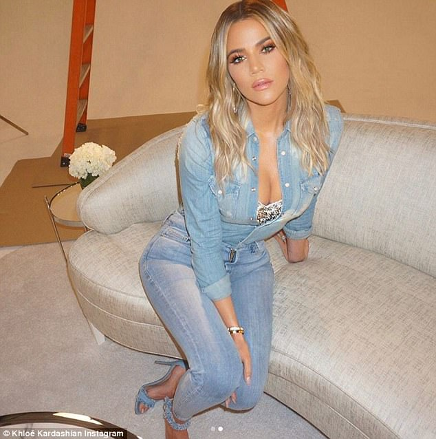 Khloe Kardashian Flaunts Cleavage and Derriere In New Photos