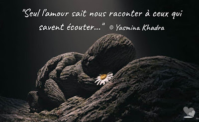 Citation de Yasmina Khadra sur l'amour