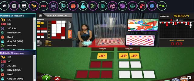 Cara Main Togel Live Game Red White Di Situs Resmi AsTogel