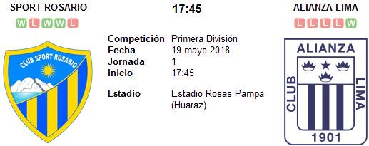 Sport Rosario vs Alianza Lima en VIVO