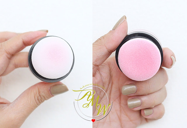 a photo of Dearberry Toc Toc Blusher in Marshmallow Bunny review