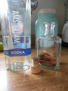 Make your own Cinnamon Extract. Use in cookies or anywhere that a touch of cinnamon would be enjoyed!