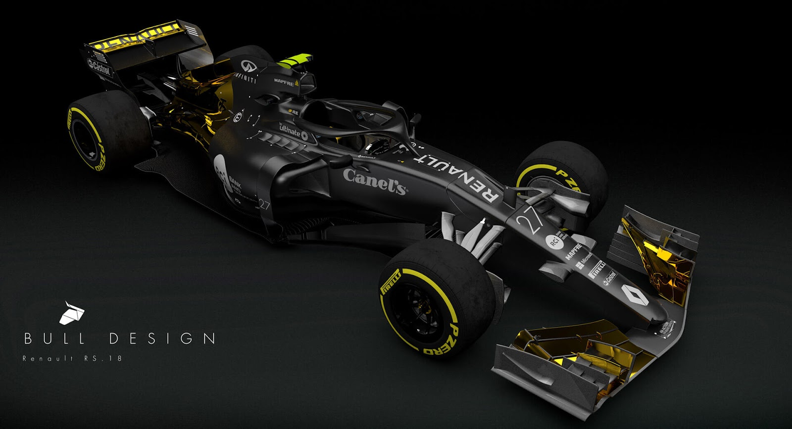 Delicieux Remember What We Said About The Shame Of Renault Ditching The Lotus/JPS  Livery? Yeah, We Take It Back. This Looks Cooler. Itu0027s Sean Bullu0027s Latest  Project, ...