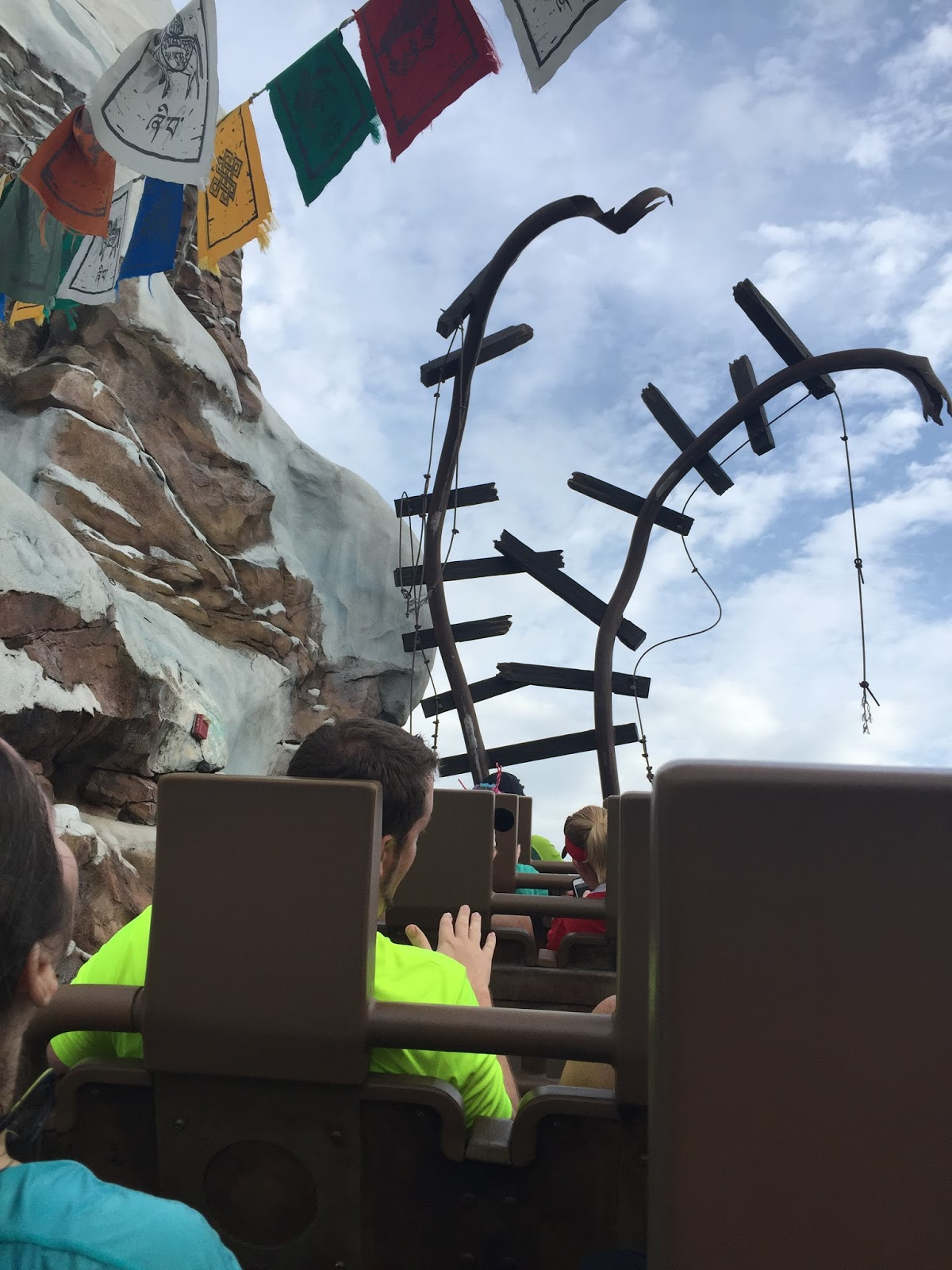 Dopey Challenge Mickey Marathon 2016 Riding Expedition Everest