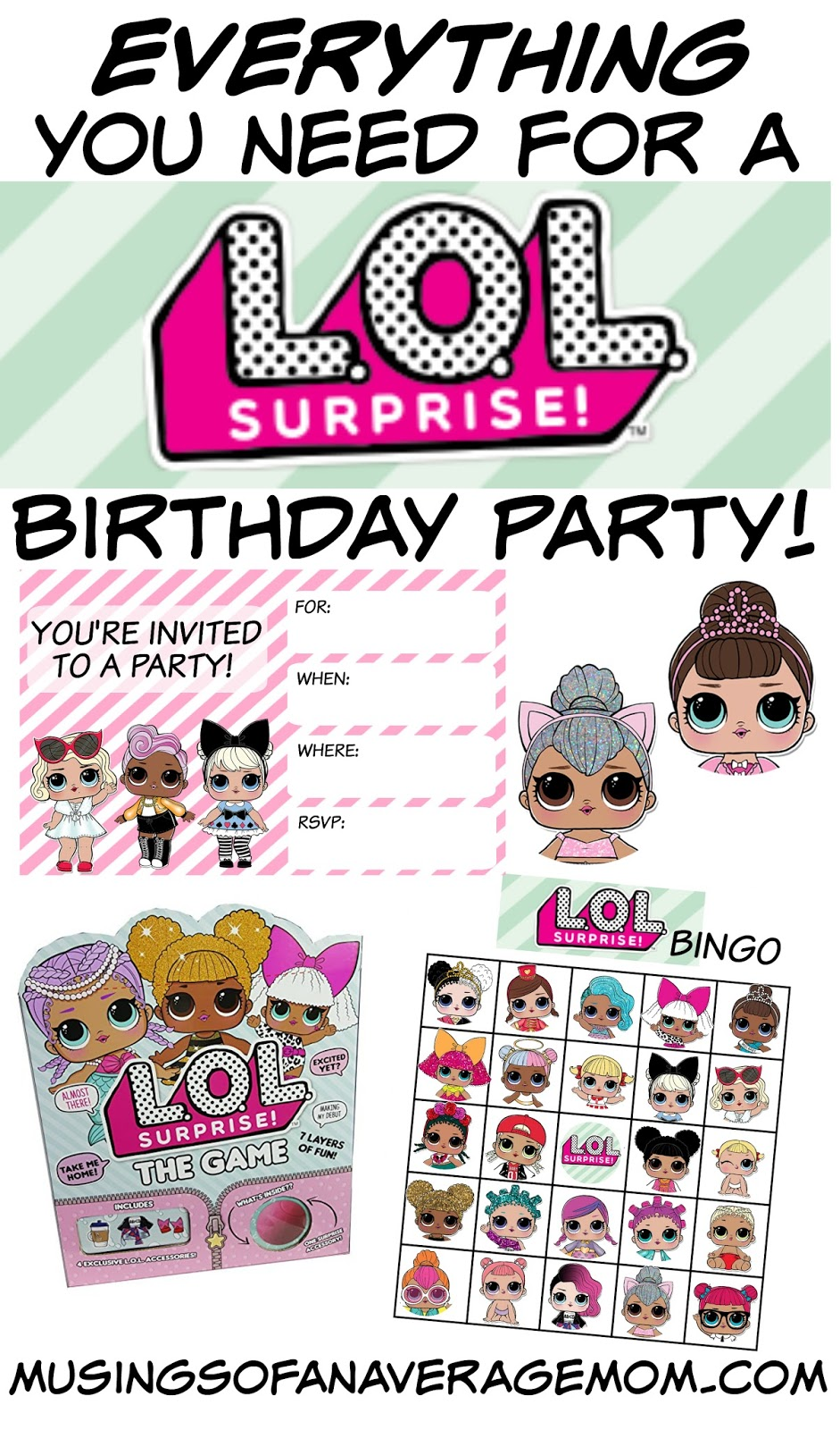 LOL Surprise Dolls Birthday Party