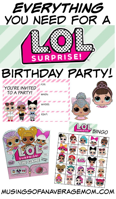 L.O.L. surprise dolls birthday party
