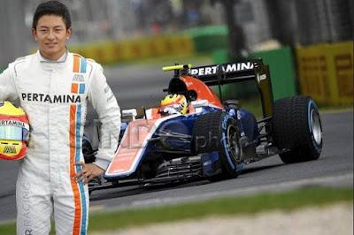 Pembalap F1 Rio Haryanto