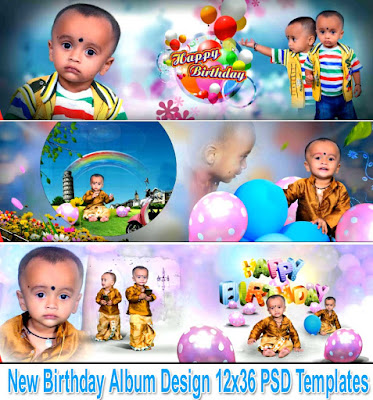 New Birthday Album Design