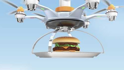 Food Delivery By Drone