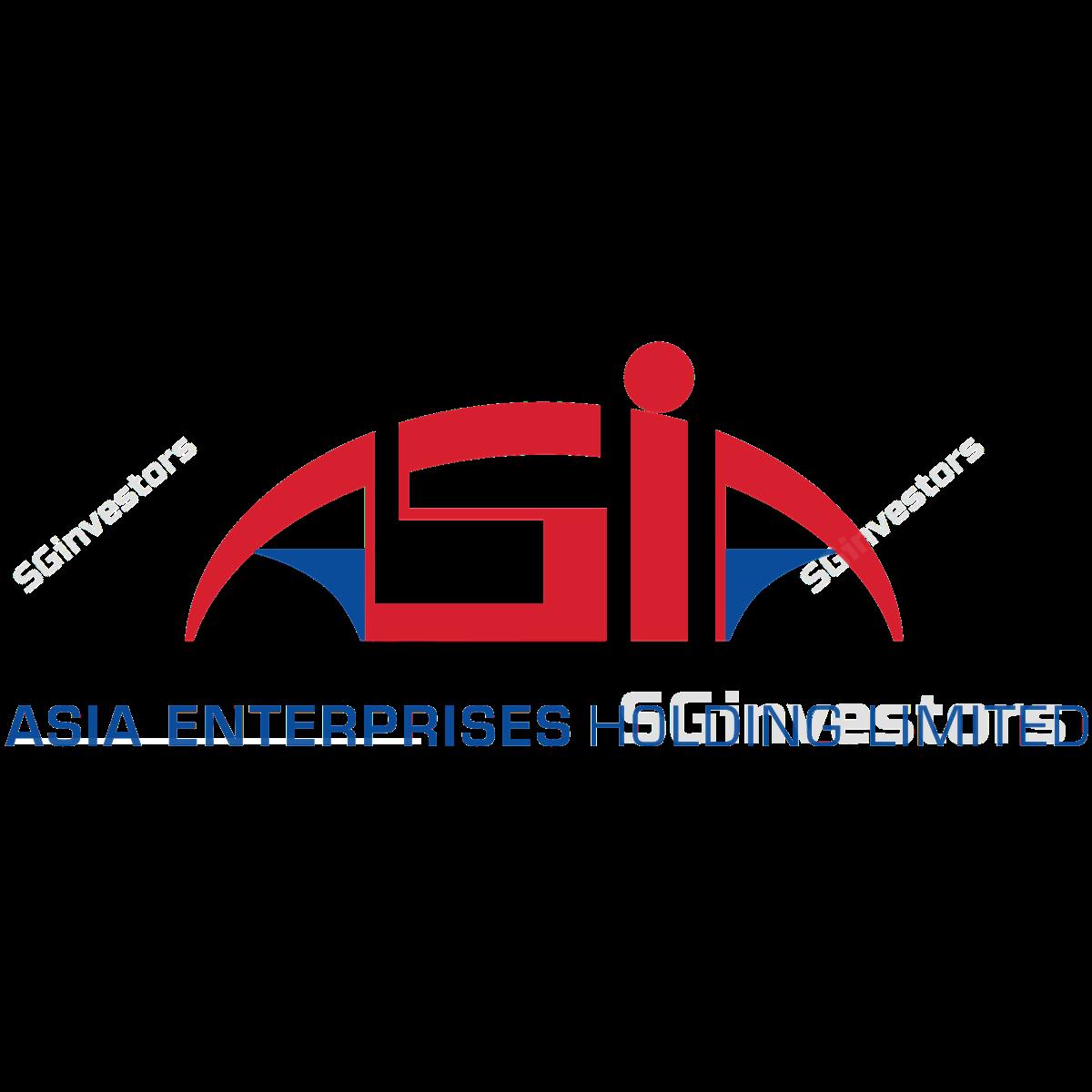 ASIA ENTERPRISES HOLDING LTD (SGX:A55) @ SGinvestors.io