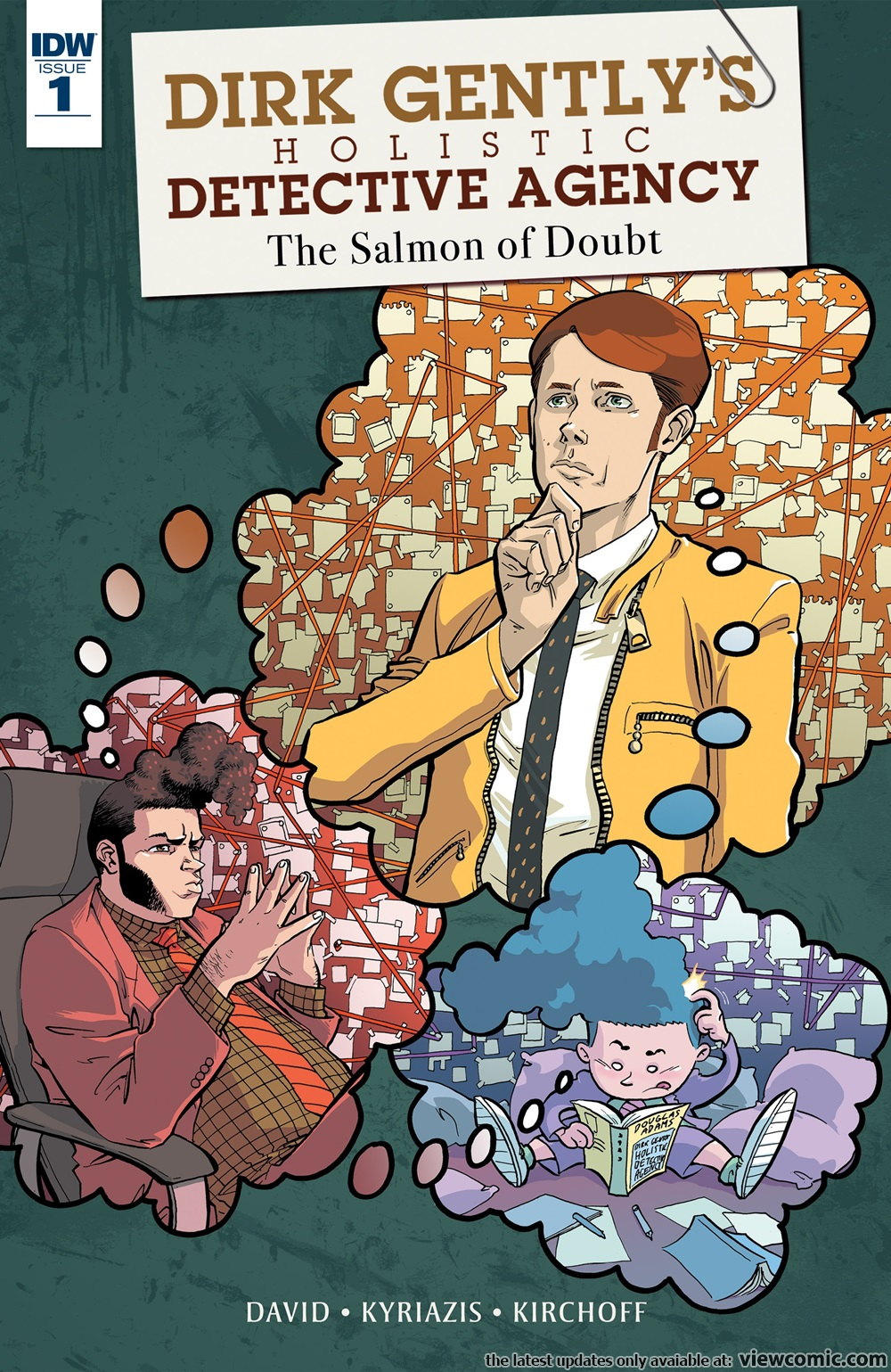 Dirk Gentlys Holistic Detective Agency The Salmon Of Doubt 001 2016 Read Dirk Gentlys Holistic Detective Agency The Salmon Of Doubt 001 2016 Comic Online In High Quality Read Full Comic