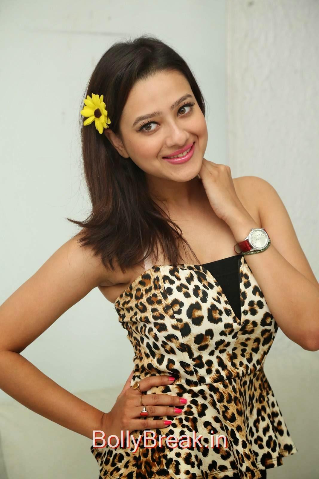 Telugu Actress Madalasa Sarma, Hot HD Images of Madalasa Sharma from Ramleela Movie Interview