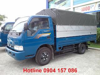 Xe tải Thaco Kia tải trọng 2.4 tấn Hải Phòng