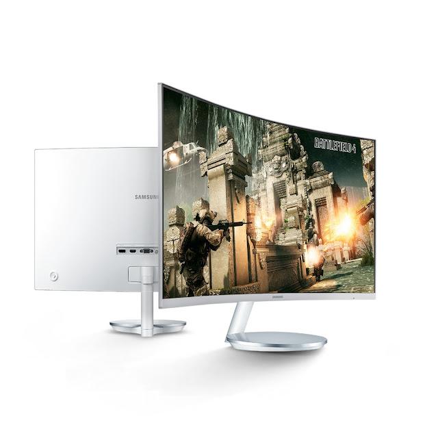 El monitor curvo de Samsung, una experiencia visual
