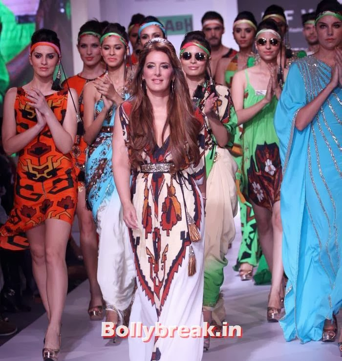 Pria Kataria Puri , Pria Kataria Puri Show at India Resortwear Fashion Week 2013