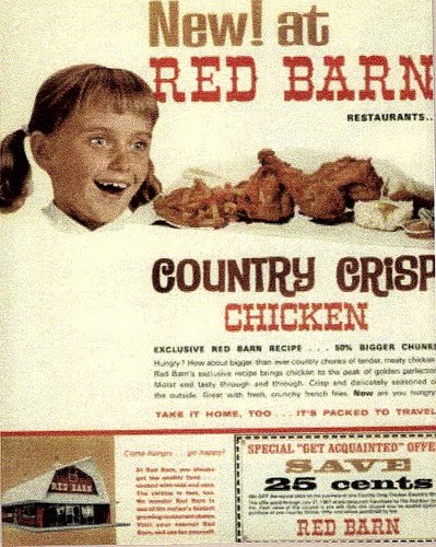 lost toronto: Red Barn Burgers/Then and Now