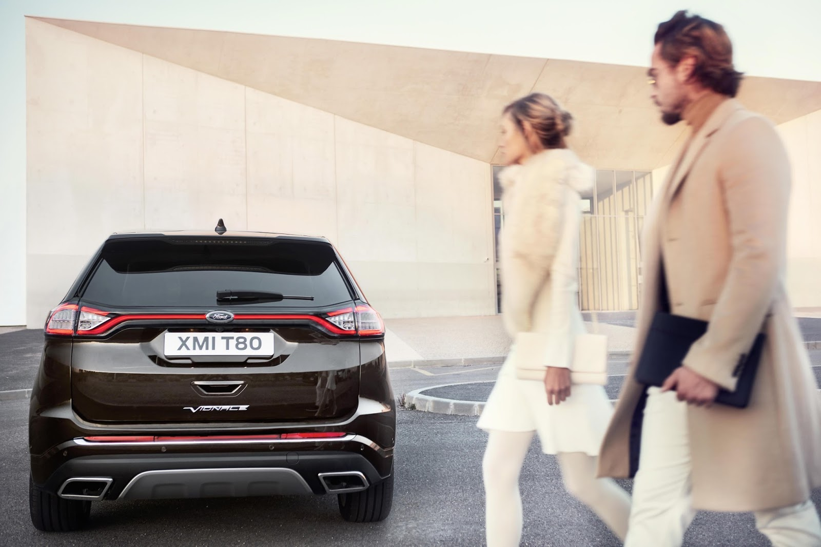 Powerful Fuel Efficient And Refined Powertrains Include Fords Ps Bi Turbo Tdcisel For The Ford Edge Vignale And Ps   Litre Ecoboost Petrol