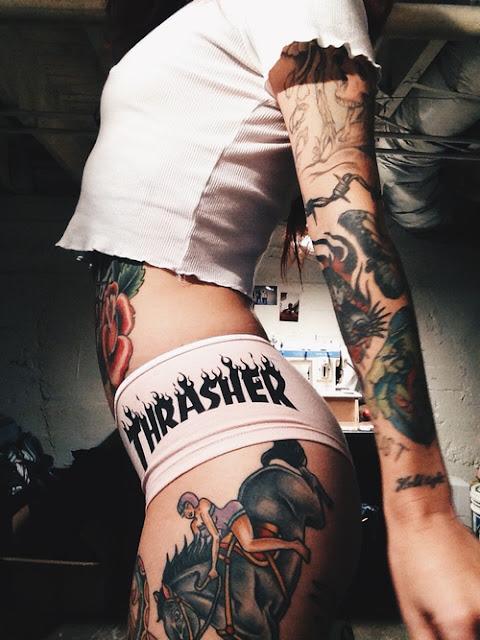 So Hot Feminine Tattoos