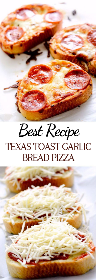 TEXAS TOAST GARLIC BREAD PIZZA #dinnerrecipe #food