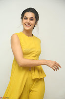 Taapsee Pannu looks mesmerizing in Yellow for her Telugu Movie Anando hma motion poster launch ~  Exclusive 058.JPG