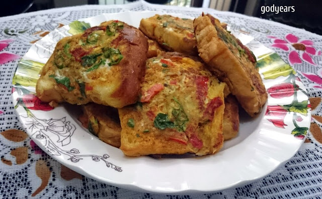 Masala French Toast - an Indian twist