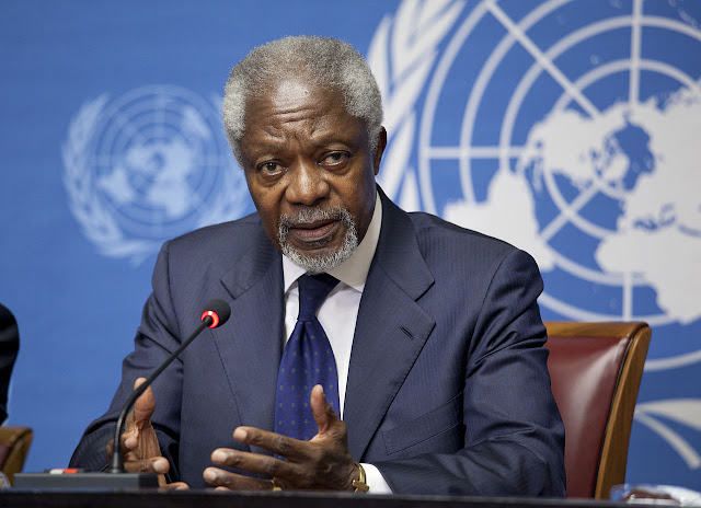 Former UN Chief 'Kofi Annan' Dies At 80