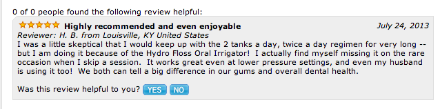 hydro floss magnetic oral irrigator