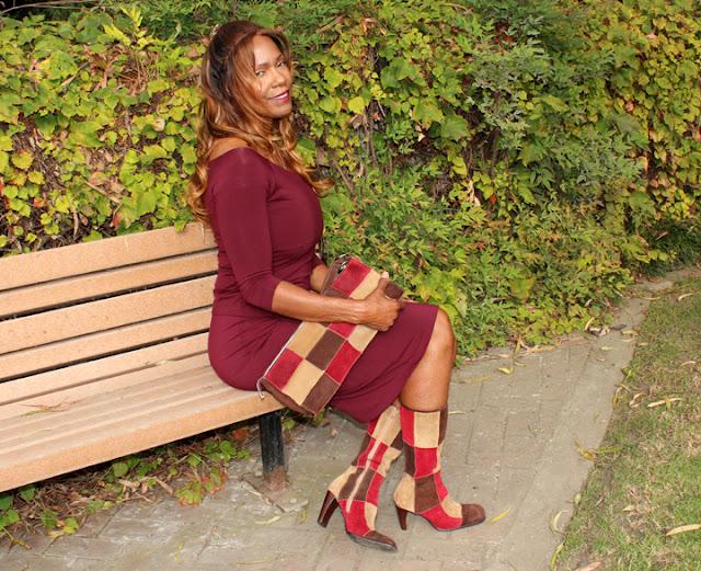 Over 50 Fashion #patchwork , miu miu boots