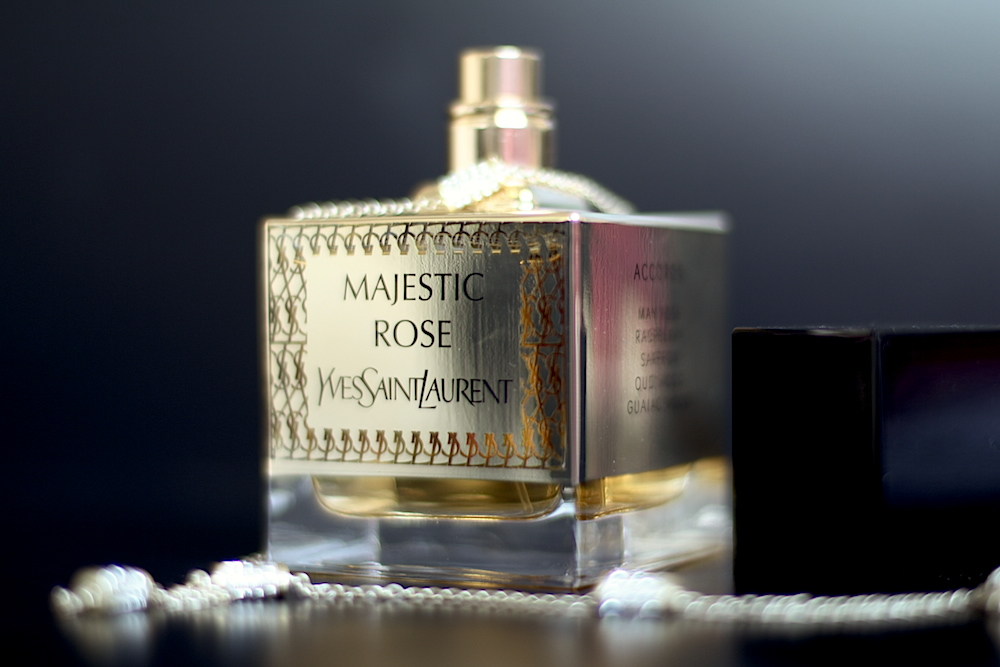 ysl yves saint laurent majestic rose parfum avis test
