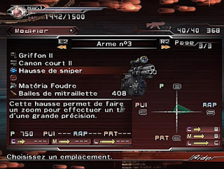 Dirge of cerberus: FFVII screen 2
