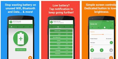 Green Battery Saver & Manager Aplikasi Gratis Pengirit Baterai Android Terbaik