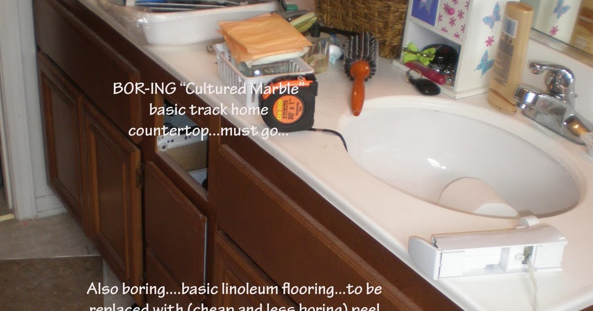 Wild Whitney's: Faux Granite Countertop for less than 25 Bucks!